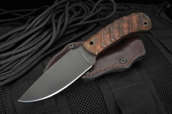 Winkler Knives WK2 Woodsman - Contoured Maple and Caswell