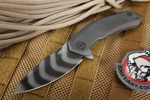 Zero Tolerance 0095TS Tiger Stripe - Sprint Run Knife