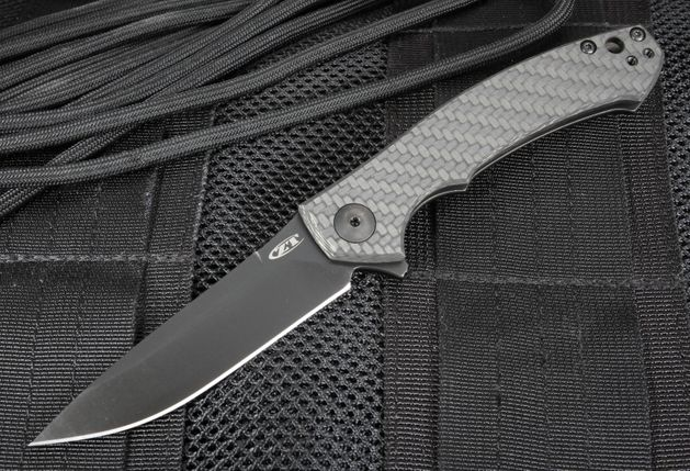 Zero Tolerance 0450CF Carbon Fiber Flipper - S35VN Steel