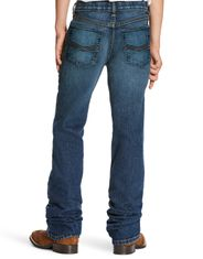 Ariat Boy's B5 Stretch Low Rise Slim Fit Straight Leg Jeans - Marshall (Closeout)