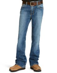 Ariat Boy's Legacy B5 Slim Straight Leg Stretch Low Rise Slim Fit Straight Leg Jeans - Brandon