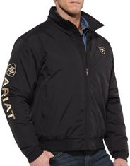 Ariat Men's Insulated Concealed Carry Solid Zip Team Logo Jacket - Black