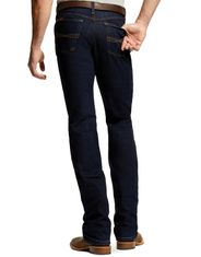 Ariat Men's M1 Vintage Stackable Straight Leg Jeans - Abraded Rinse