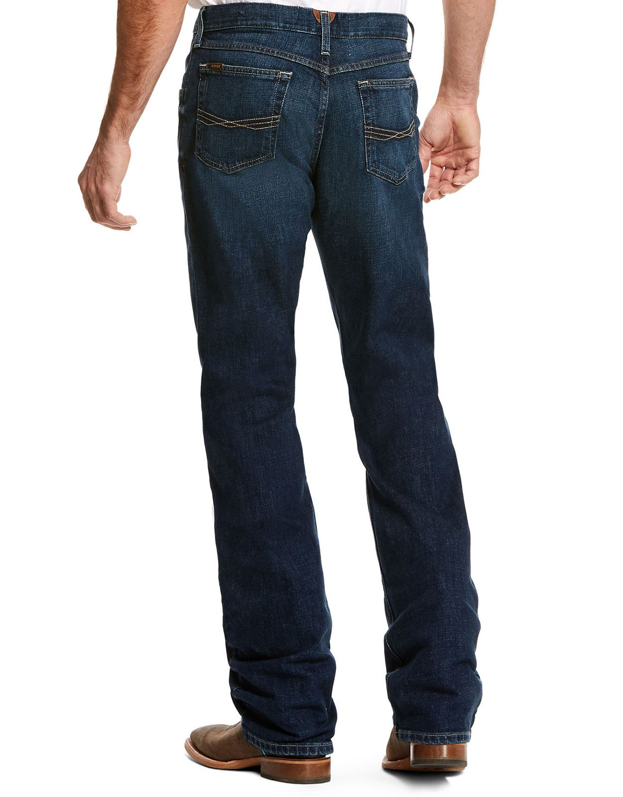 Ariat Men's M1 Vintage Stackable Straight Leg Jeans - Quest