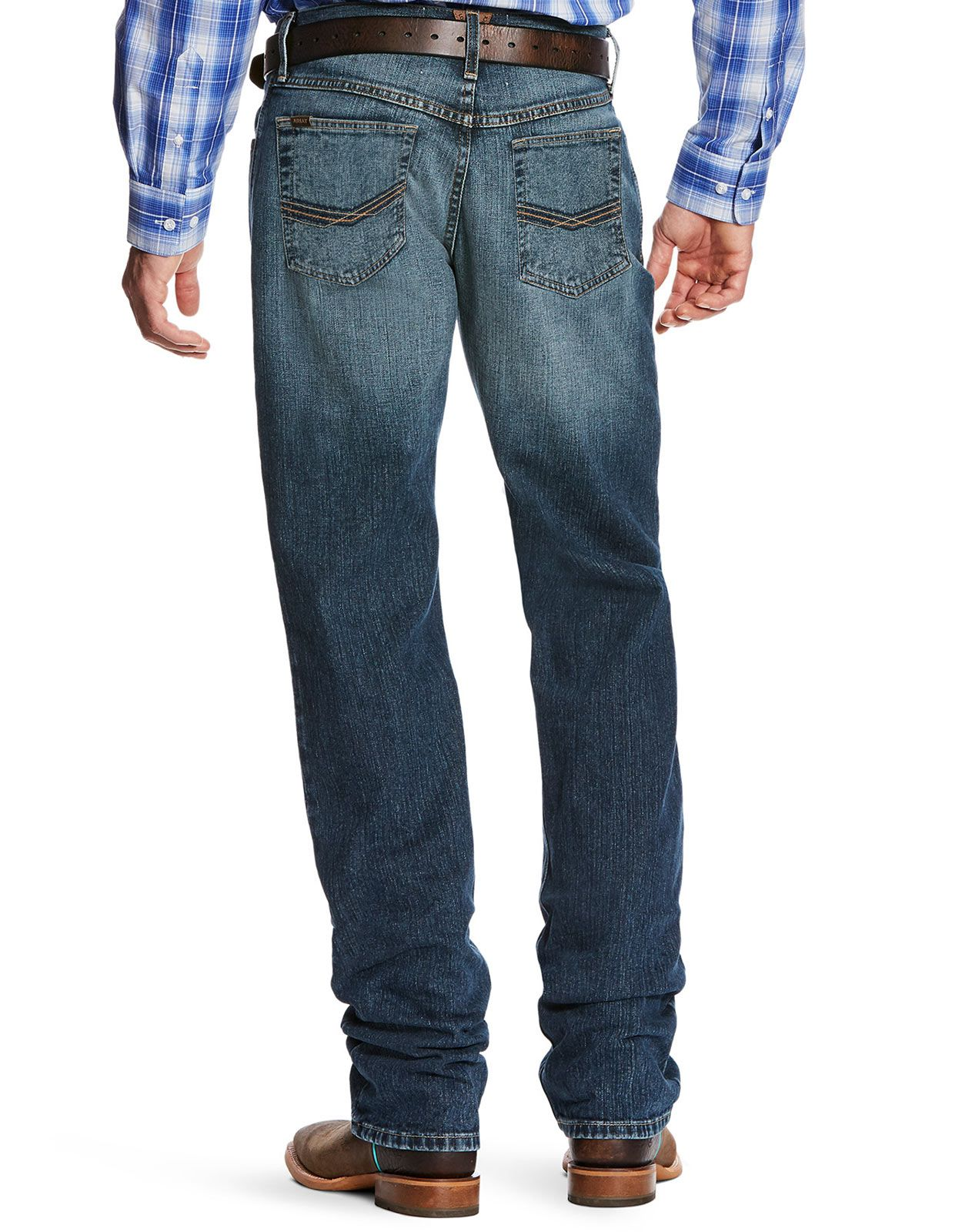 Ariat Men's M2 Legacy Stretch Low Rise Relaxed Fit Stackable Boot Cut Jeans - Kilroy (Closeout)