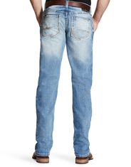Ariat Men's M2 Legacy Stretch Low Rise Relaxed Fit Stackable Boot Cut Jeans - Shasta
