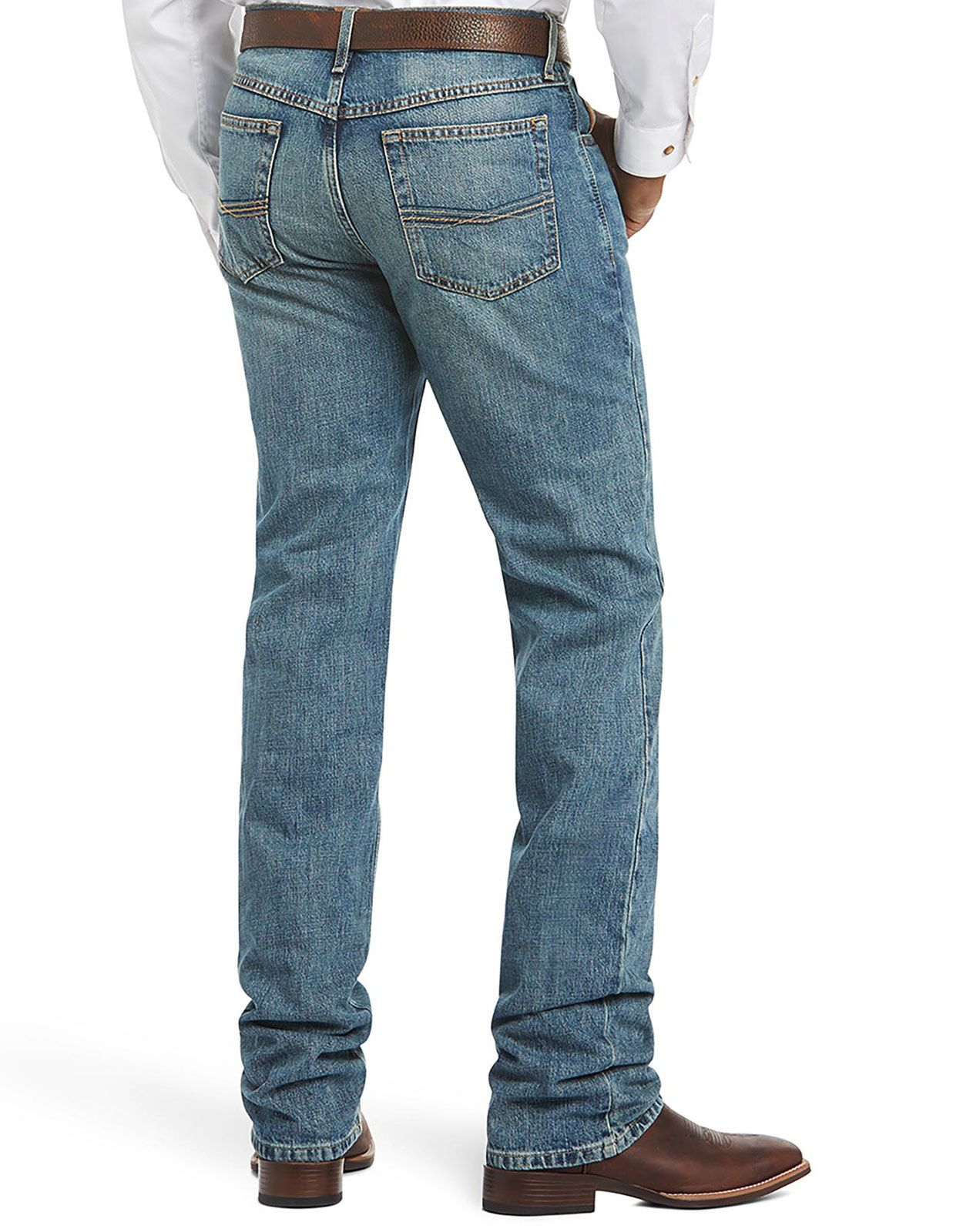 Ariat Men's M2 Relaxed Stackable Boot Cut Jeans - Granite