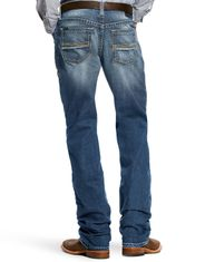 Ariat Men's M2 Relaxed Stackable Boot Cut Stretch Low Rise Relaxed Fit Stackable Boot Cut Jeans - Fargo