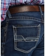 Ariat Men's M2 Stretch Low Rise Relaxed Fit Stackable Boot Cut Jeans - Salton