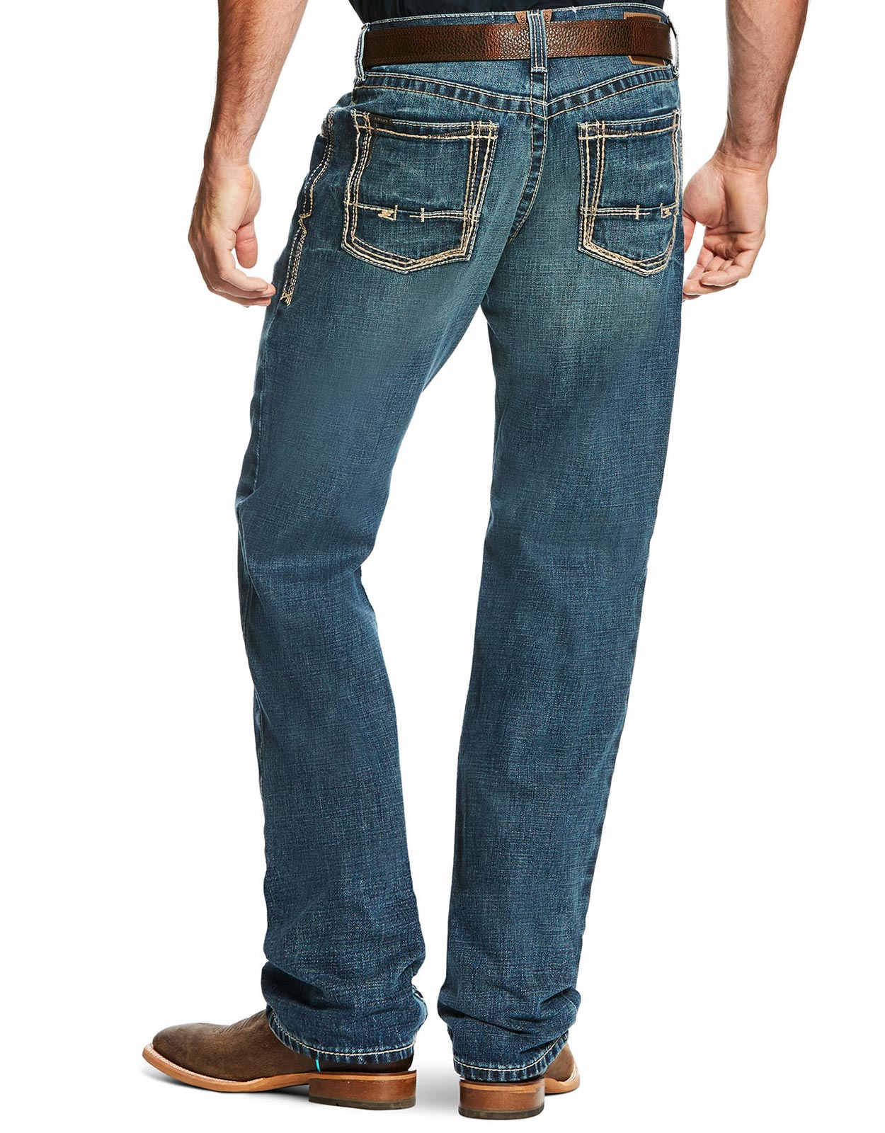 Ariat Men's M3 Low Rise Loose Fit Stackable Straight Leg Jeans - Gulch