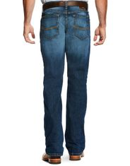 Ariat Men's M4 Legacy Stretch Low Rise Relaxed Boot Cut Jeans - Freeman