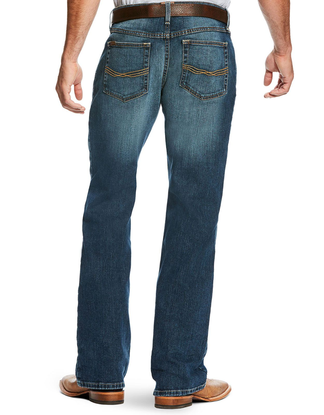 Ariat Men's M4 Legacy Stretch Low Rise Relaxed Fit Boot Cut Jeans - Kilroy