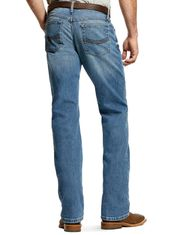 Ariat Men's M4 Legacy Stretch Low Rise Relaxed Fit Stackable Straight Leg Jeans - Sawyer