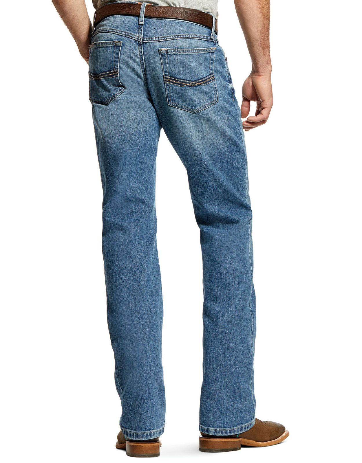 Ariat Men's M4 Legacy Stretch Low Rise Relaxed Fit Stackable Straight Leg Jeans - Sawyer (Closeout)