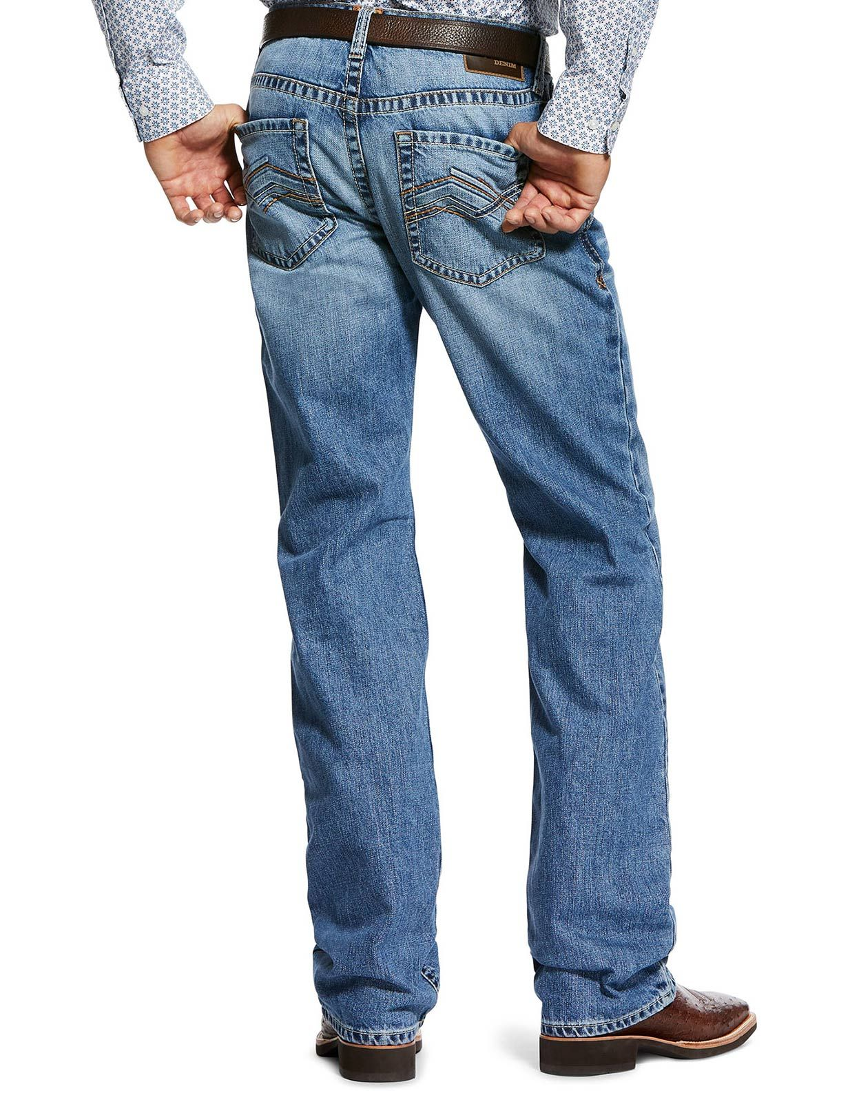 Ariat Men's M4 Low Rise Relaxed Fit Boot Cut Jeans - Baylor