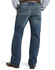 Ariat Men's M4 Stretch Low Rise Relaxed Fit Boot Cut Jeans - Silverton