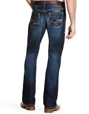 Ariat Men's M4 Stretch Low Rise Relaxed Fit Boot Cut Jeans - Turnout