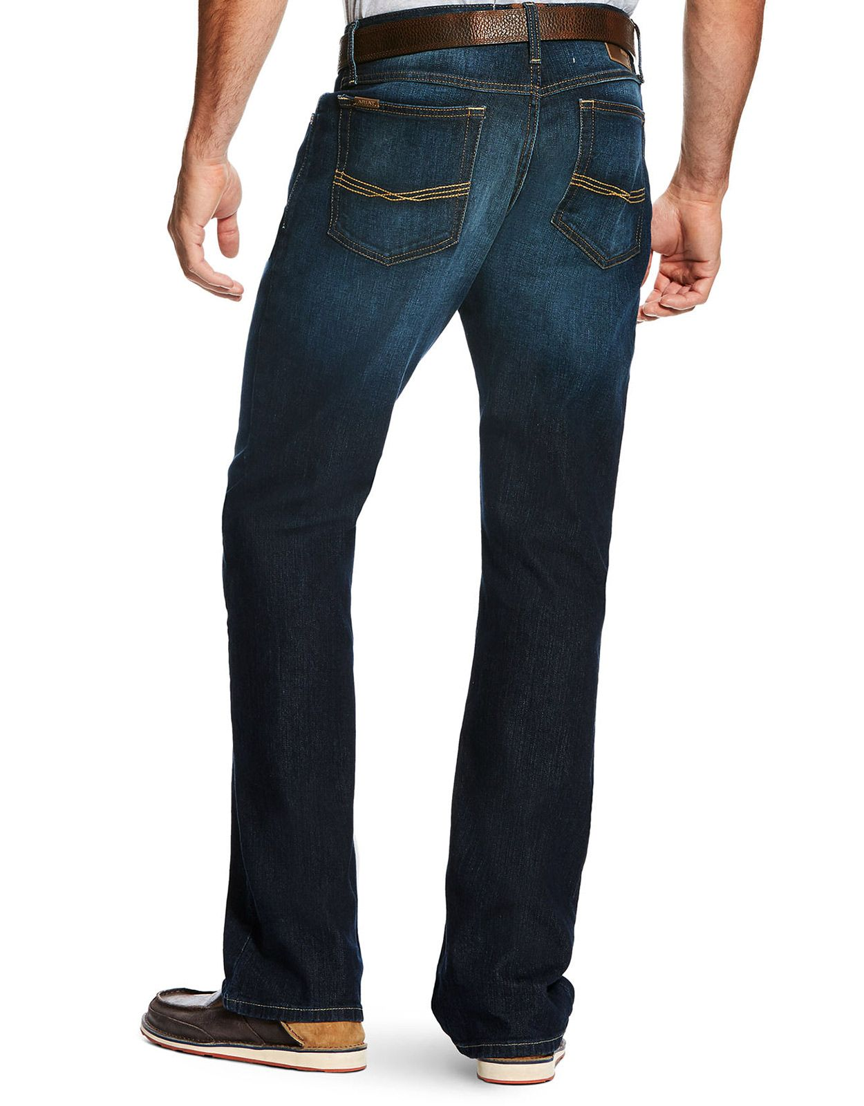 Ariat Men's M5 Legacy Stretch Low Rise Slim Fit Straight Leg Jeans - Durham