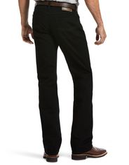 Ariat Men's M5 Legacy Stretch Low Rise Straight Fit Straight Leg Jeans - Black