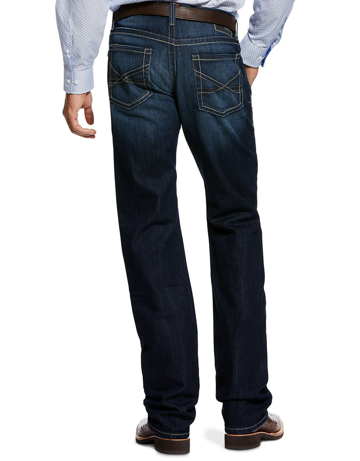 Ariat Men's M5 Low Rise Straight Fit Straight Leg Jeans - State