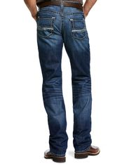 Ariat Men's M5 Slim Stackable Straight Leg Low Rise Slim Fit Stackable Straight Leg Jeans - Prescott