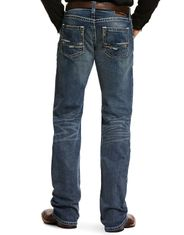 Ariat Men's M5 Slim Stackable Straight Leg Stretch Low Rise Slim Fit Stackable Straight Leg Jeans - Lennox