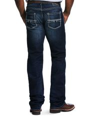 Ariat Men's M5 Slim Stackable Straight Leg Stretch Low Rise Slim Fit Stackable Straight Leg Jeans - Nightingale