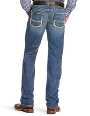 Ariat Men's M5 Stretch Low Rise Slim Fit Stackable Straight Leg Jeans - Nolan