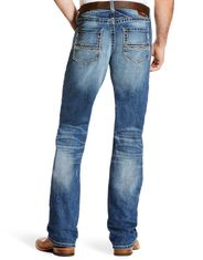 Ariat Men's M5 Stretch Low Rise Slim Fit Stackable Straight Leg Jeans - Fargo
