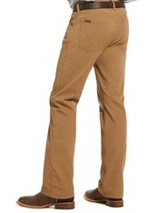 Ariat Men's M5 Stretch Low Rise Straight Fit Straight Leg Jeans - Khaki