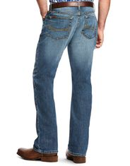 Ariat Men's M7 Rocker Slim Fit Stretch Boot Cut Jeans - Drifter