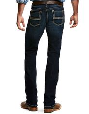 Ariat Men's M7 Rocker Stackable Straight Leg Stretch Low Rise Slim Fit Stackable Straight Leg Jeans - Dodge