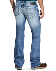 Ariat Men's M7 Rocker Stackable Straight Leg Stretch Low Rise Slim Fit Stackable Straight Leg Jeans - Shasta