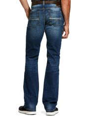 Ariat Men's M7 Rocker Slim Stackable Straight Leg Stretch Low Rise Slim Fit Stackable Straight Leg Jeans - Summit