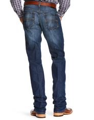 Ariat Men's Relentless Original Fit Chance Stretch Low Rise Slim Fit Stackable Straight Leg Jeans - Wayne