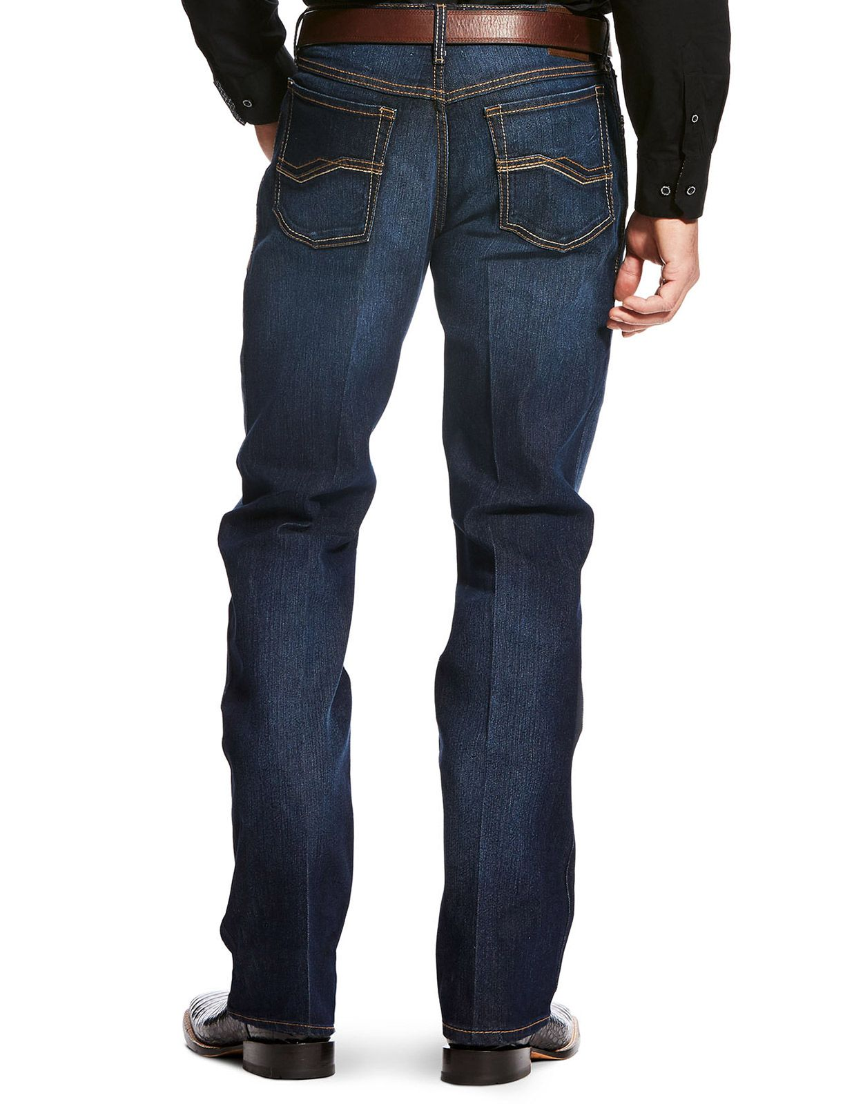 Ariat Men's Relentless Relaxed Fit Deuces Stretch Low Rise Relaxed Fit Stackable Boot Cut Jeans - Clayton (Closeout)