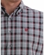 Cinch Men's Long Sleeve Plaid Button Down Shirt - Grey