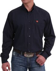 Cinch Men's Long Sleeve Print Button Down Shirt - Multi