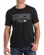 Cinch Men's Short Sleeve Solid Logo Tee Shirt- Black