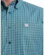 Cinch Men's Tencel Long Sleeve Plaid Button Down Shirt - Green