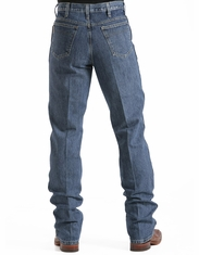 Cinch Mens Bronze Label Slim Fit Jean - Dark Stonewash