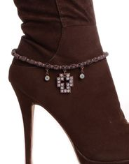 Kamberley Women's Cross Concho Boot Chain