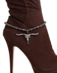 Kamberley Women's Long Horn Boot Chain