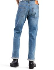 Levi's Men's 501 Stretch Mid Rise Regular Fit Straight Leg Jeans - The Ben