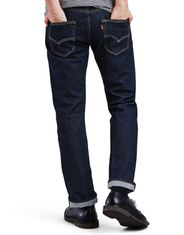 Levi's Men's 501 Stretch Mid Rise Regular Fit Straight Leg Jeans - The Rose