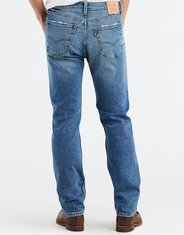 Levi's Men's 505 Regular Stretch Mid Rise Regular Fit Straight Leg Jeans - Afrobeat