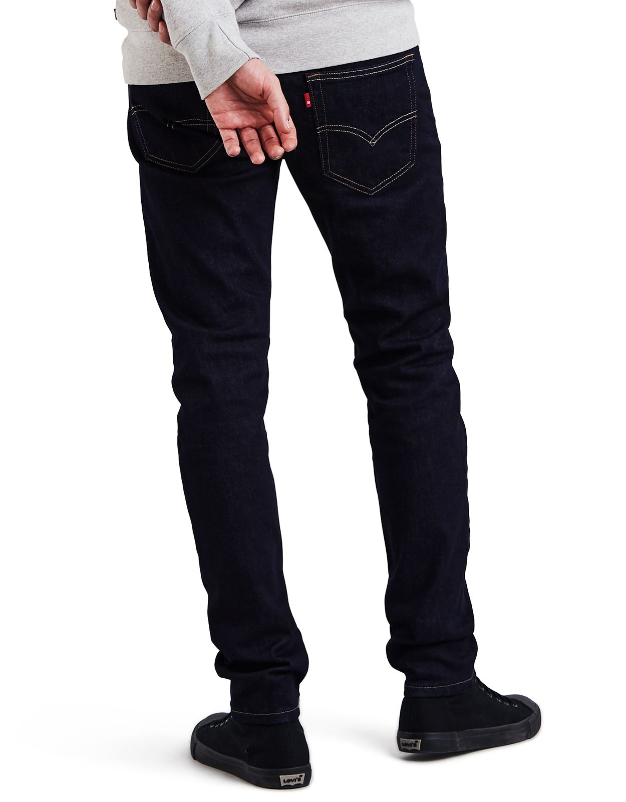 Levi's Men's 512 Stretch Low Rise Slim Fit Tapered Leg Jeans - Dark Hollow