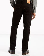 Levi's Men's 501 Original Mid Rise Regular Fit Straight Leg Jeans - Black
