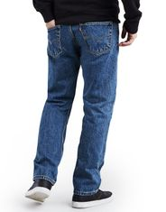 Levi's Men's 505 Regular Mid Rise Regular Fit Straight Leg Jeans - Medium Stonewash
