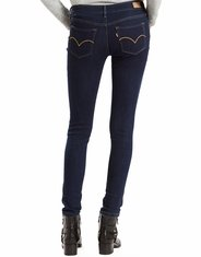 Levi's Women's 535 Super Skinny Jeans - Canal Rinse